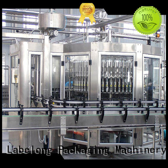 Labelong Packaging Machinery high quality cooking oil bottlling machine compact structed for flavor water