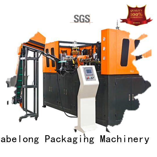 high speed semi-automatic pet bottle blowing machine with hgh efficiency for drinking oil