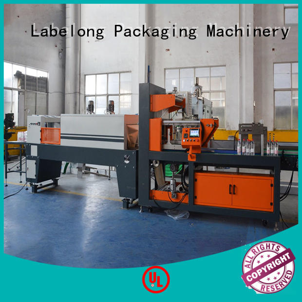 linear automatic shrink wrappin machine plc control system for small packages