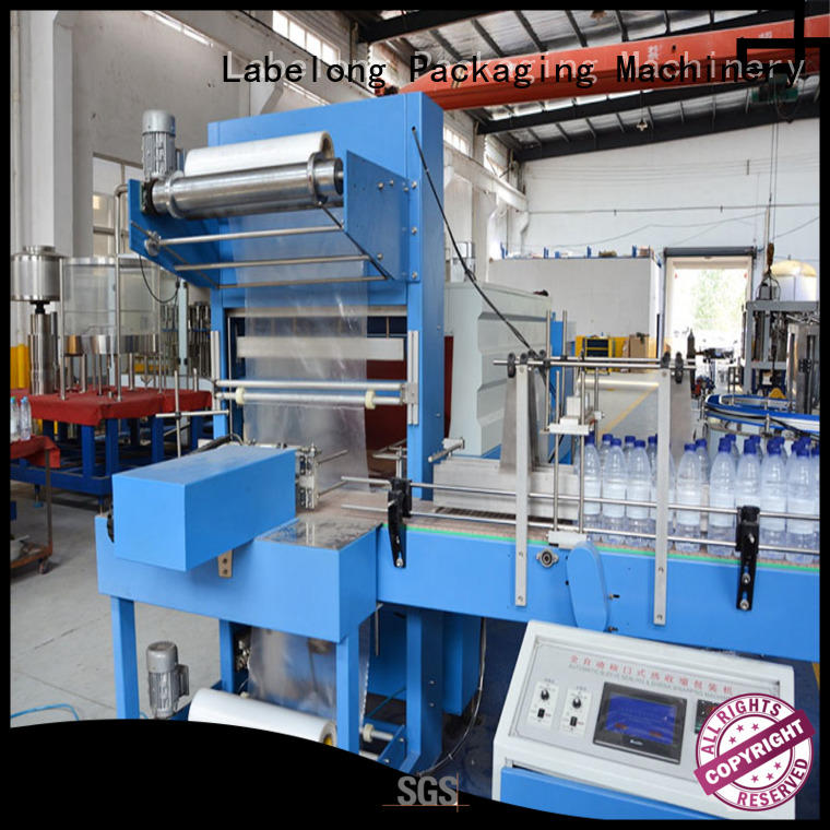 Labelong Packaging Machinery l-type automatic shrink wrap machine plc control system for small packages
