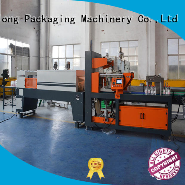 Labelong Packaging Machinery automatic shrink wrap machine plc control system for plastic bottles for glass bottles