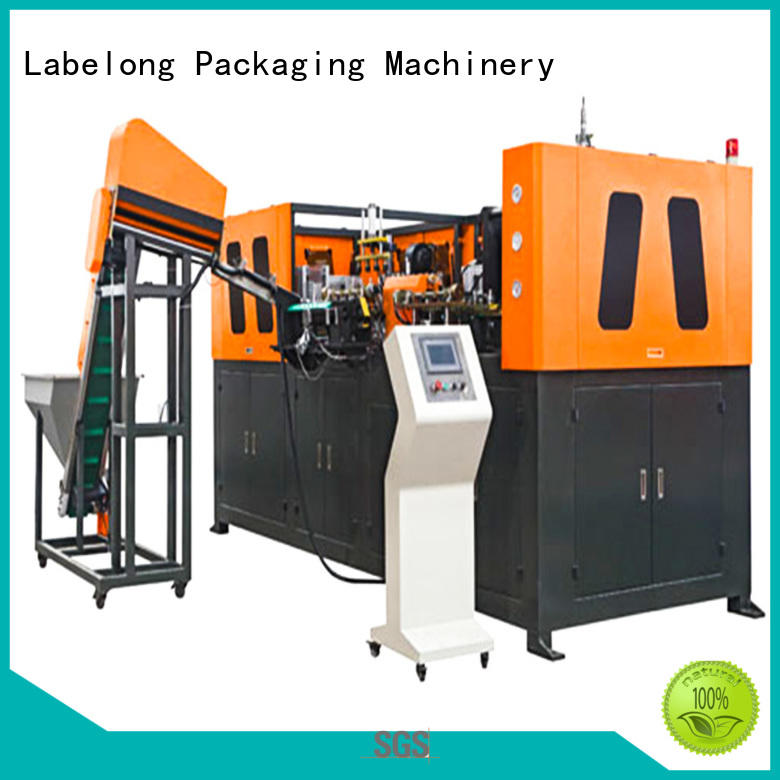 dual boots pet bottle blowing machine with hgh efficiency for drinking oil