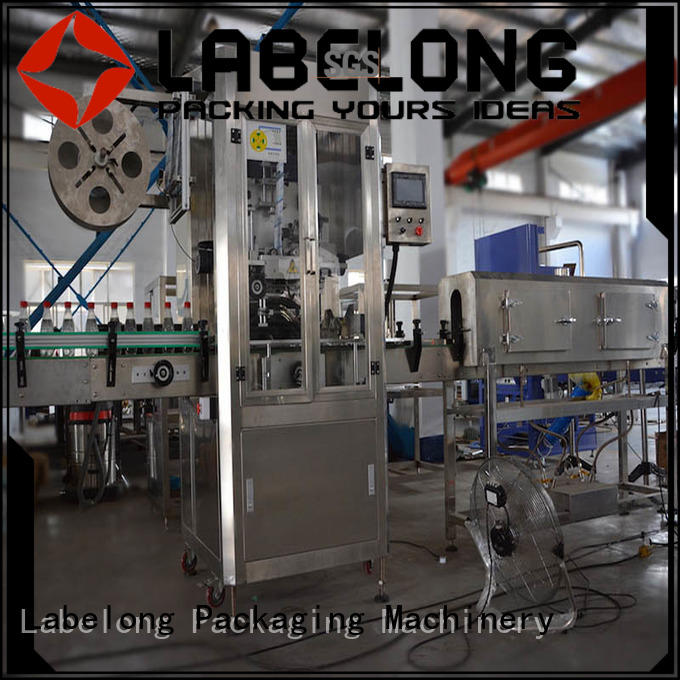 Labelong Packaging Machinery suitable opp labeling machine with hgh efficiency for food