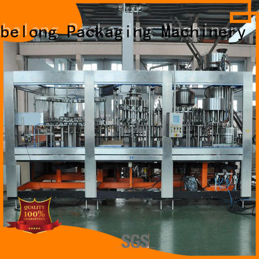 automatic juice bottling machine easy opearting for mineral water, for sparkling water, for alcoholic drinks
