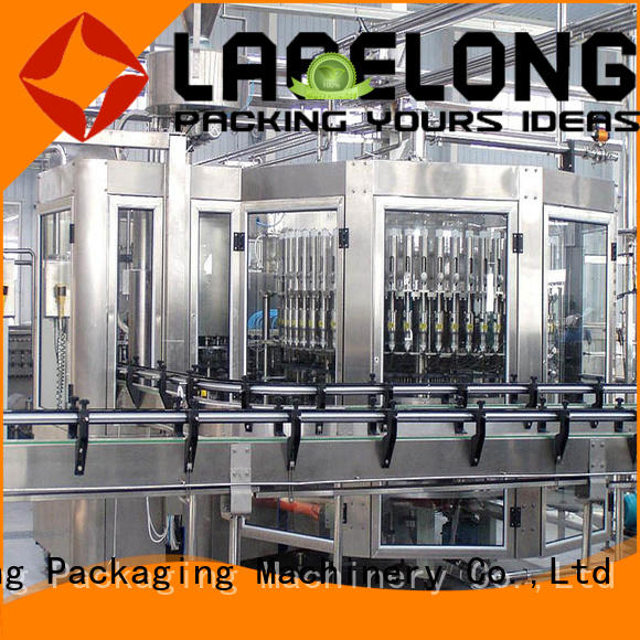 high quality water bottling equipment compact structed for mineral water, for sparkling water, for alcoholic drinks