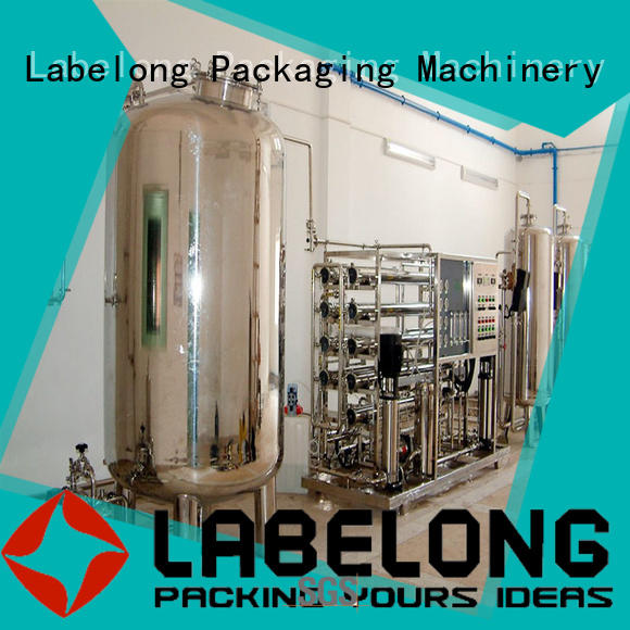 Labelong Packaging Machinery multiple filters well water purification systems for beverage's water