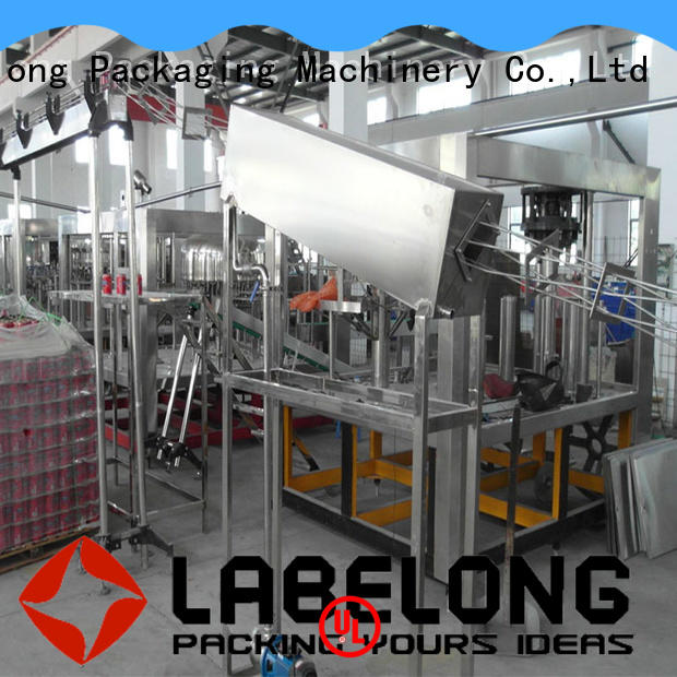 Labelong Packaging Machinery intelligent water bottle filling machine compact structed for still water