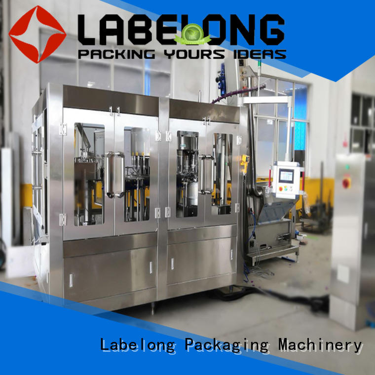 Labelong Packaging Machinery fruit juice filling machine compact structed for wine