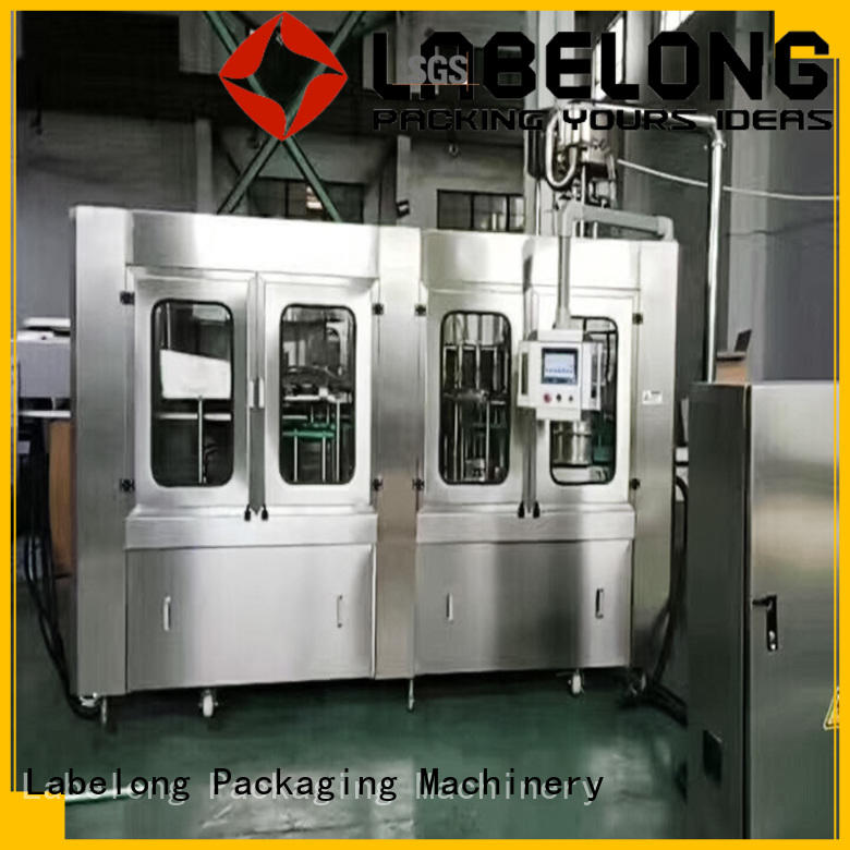 Labelong Packaging Machinery intelligent bottle filling machine good looking for mineral water, for sparkling water, for alcoholic drinks