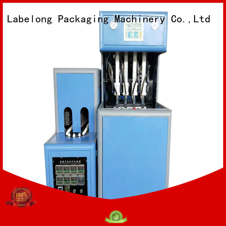 dual boots automatic bottle blowing machine with hgh efficiency for pet water bottle