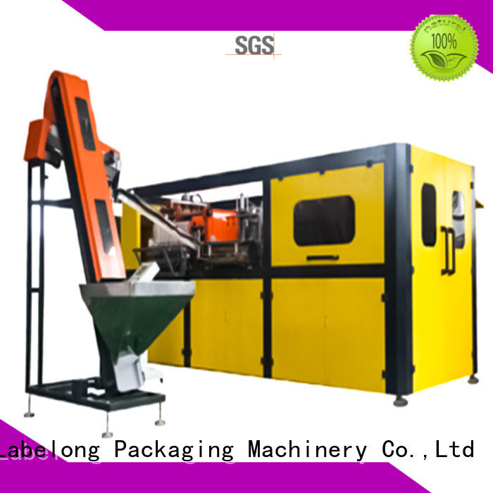 Labelong Packaging Machinery dual boots automatic pet bottle blowing machine with hgh efficiency for drinking oil