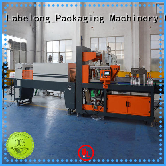 Labelong Packaging Machinery automatic shrink machine high speed for plastic bottles for glass bottles