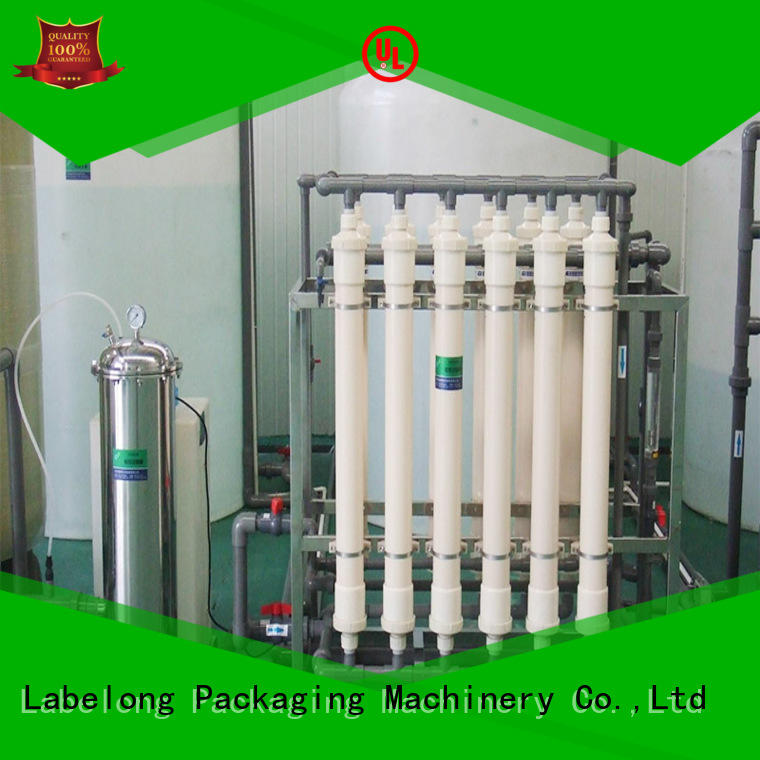 Labelong Packaging Machinery multiple filters water purifier embrane for beverage's water