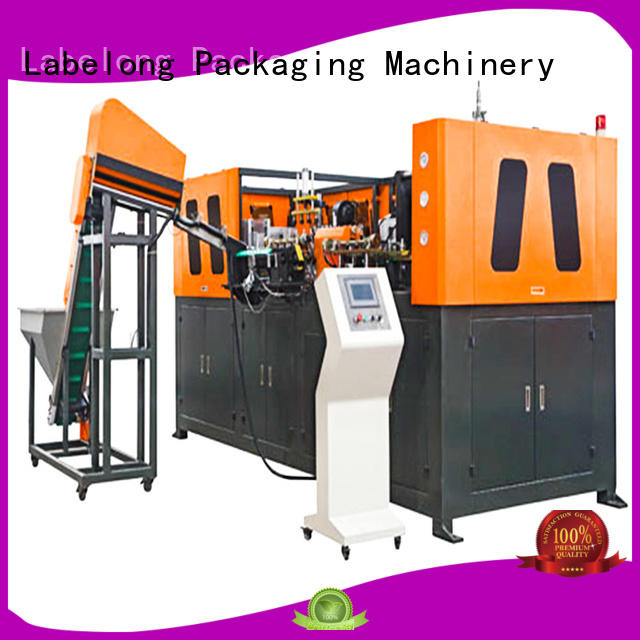 Labelong Packaging Machinery semi-automatic bottle molding machine with hgh efficiency for drinking oil