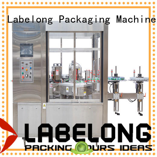 Labelong Packaging Machinery opp labeling machine with touch screen for cosmetic