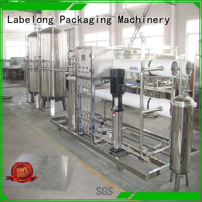 Labelong Packaging Machinery water treatment machine ultra-filtration series for pure water