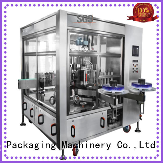 Labelong Packaging Machinery high-tech hot-melt glue labeling machine with high speed rate for cosmetic