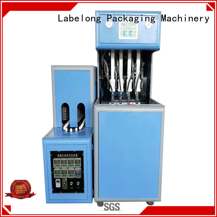Labelong Packaging Machinery dual boots automatic pet blowing machine energy saving for drinking oil