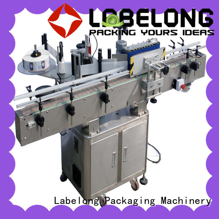 Labelong Packaging Machinery bottle labeling machine with touch screen for beverage