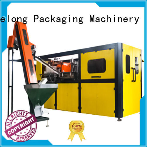 Labelong Packaging Machinery dual boots semi-automatic blowing machine with hgh efficiency for pet water bottle