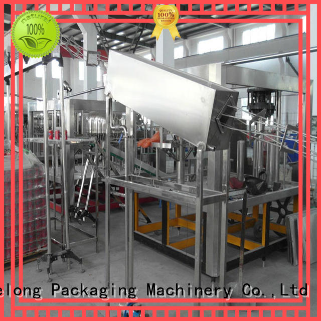 Labelong Packaging Machinery intelligent water bottle filling machine good looking for wine