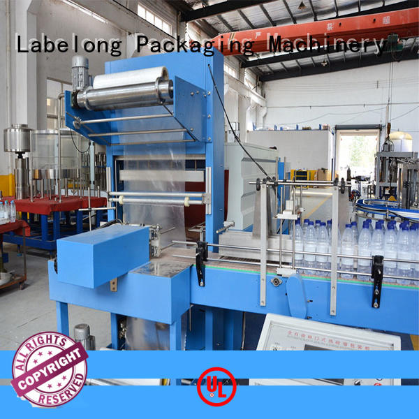 effective automatic shrink wrap machine with touch screen for cans