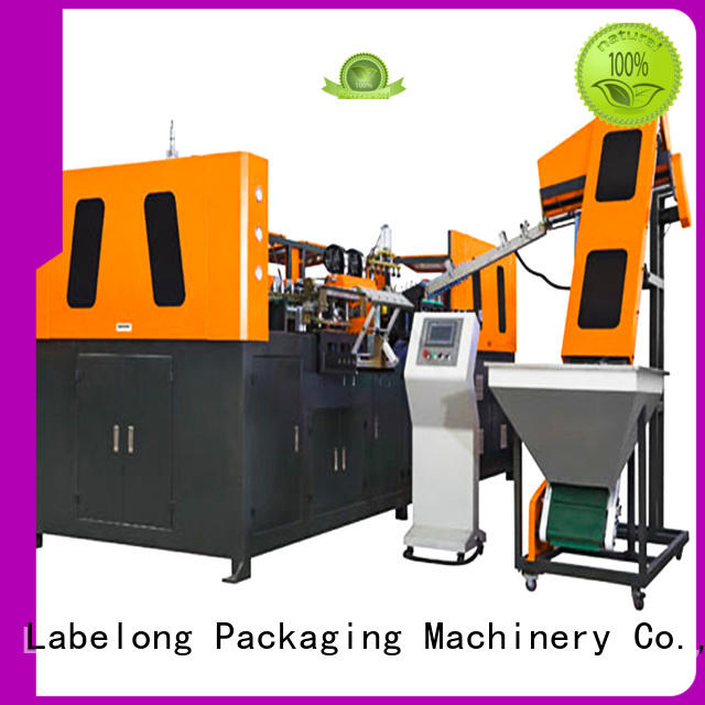 dual boots semi-automatic bottle molding machine linear template for pet water bottle