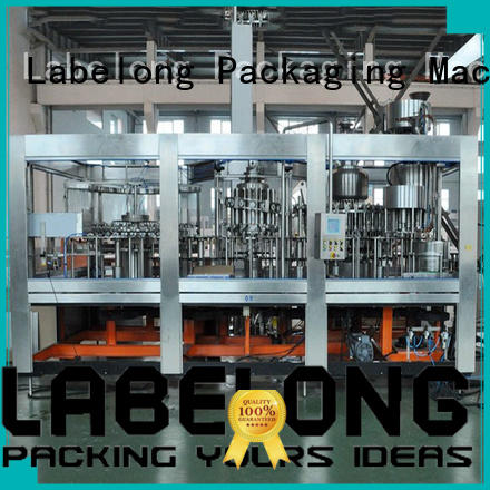 Labelong Packaging Machinery high quality water bottle filling machine good looking for wine