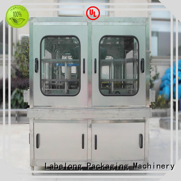 Labelong Packaging Machinery intelligent cooking oil bottlling machine good looking for mineral water, for sparkling water, for alcoholic drinks