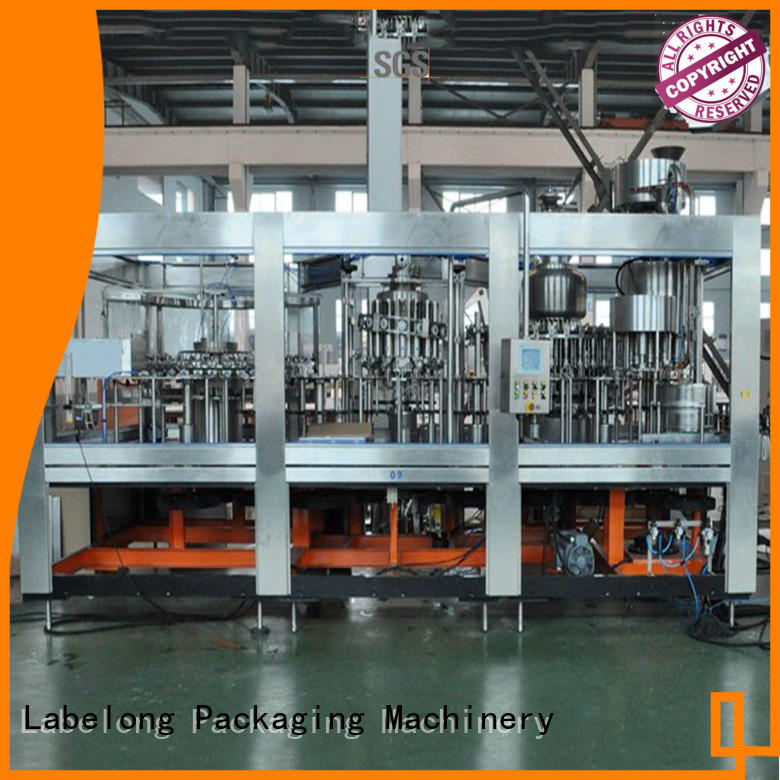 automatic water bottling machine good looking for mineral water, for sparkling water, for alcoholic drinks