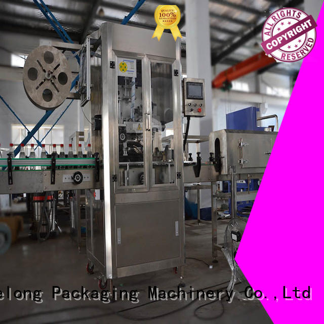 Labelong Packaging Machinery shrink sleeve labeling machine with high speed rate for spices