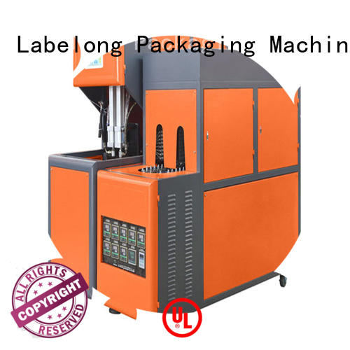 dual boots automatic blow molding machine linear template for hot-fill bottle
