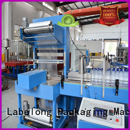 Labelong Packaging Machinery automatic shrink packaging machine with touch screen for plastic bottles for glass bottles