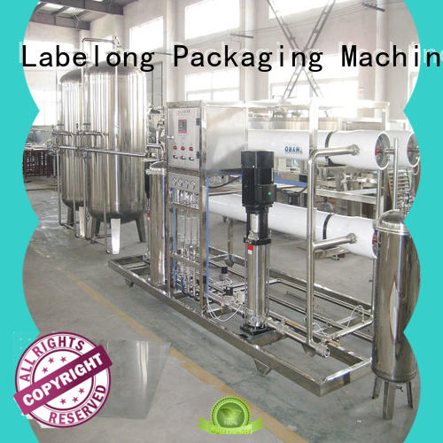 Labelong Packaging Machinery multiple filters multimedia filter embrane for pure water