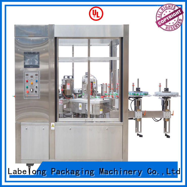Labelong Packaging Machinery high-tech shrink sleeve labeling machine with hgh efficiency for wine