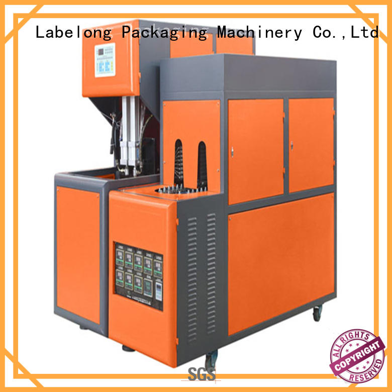 Labelong Packaging Machinery high speed semi-automatic pet bottle blowing machine linear template for csd