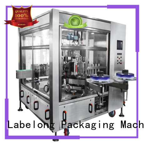 automatic bottle labeling machine with touch screen for cosmetic Labelong Packaging Machinery