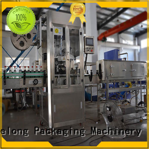 Labelong Packaging Machinery opp hot melt glue labeling machine with hgh efficiency for cosmetic