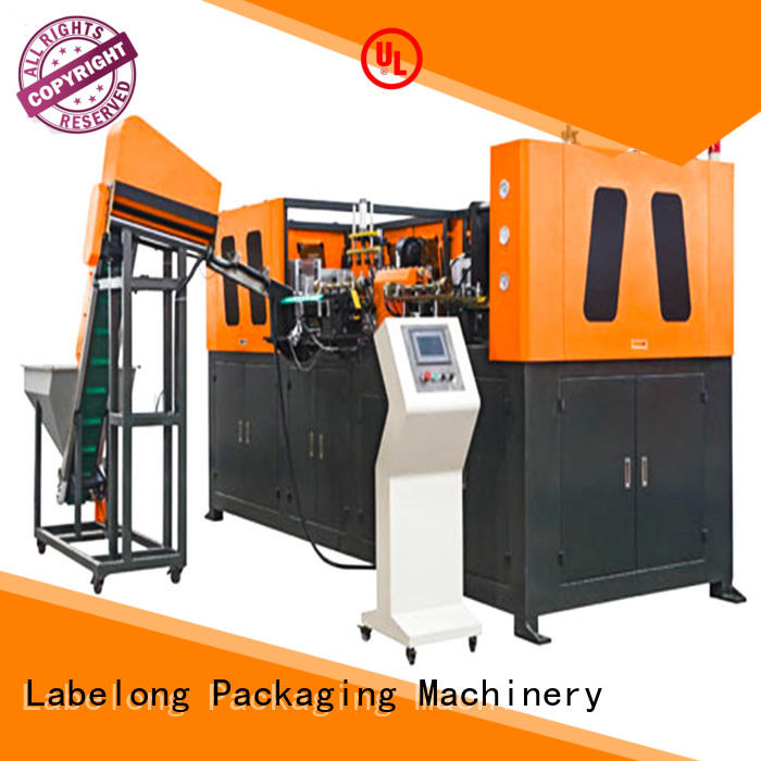 Labelong Packaging Machinery high speed semi-automatic blowing machine energy saving for hot-fill bottle