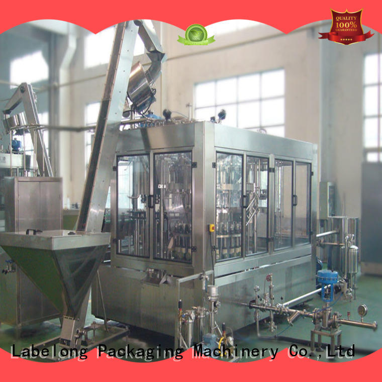 bottle filling machine good looking for mineral water, for sparkling water, for alcoholic drinks Labelong Packaging Machinery