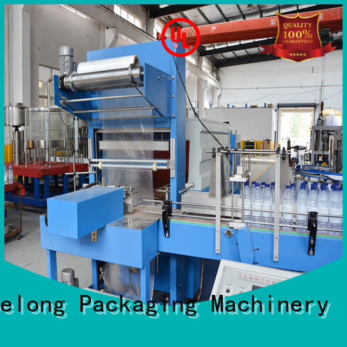 Labelong Packaging Machinery effective automatic shrink wrapper high speed for jars