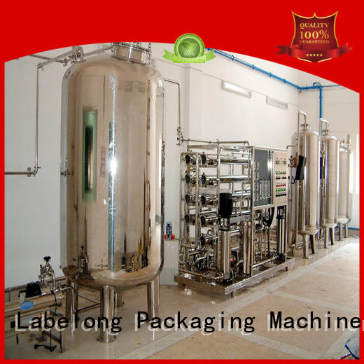Labelong Packaging Machinery water purification systems ultra-filtration series for mineral water
