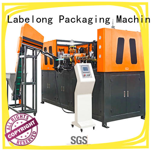 Labelong Packaging Machinery full semi-automatic blowing machine with hgh efficiency for hot-fill bottle