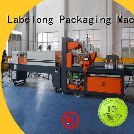 Labelong Packaging Machinery automatic shrink machine plc control system for plastic bottles for glass bottles