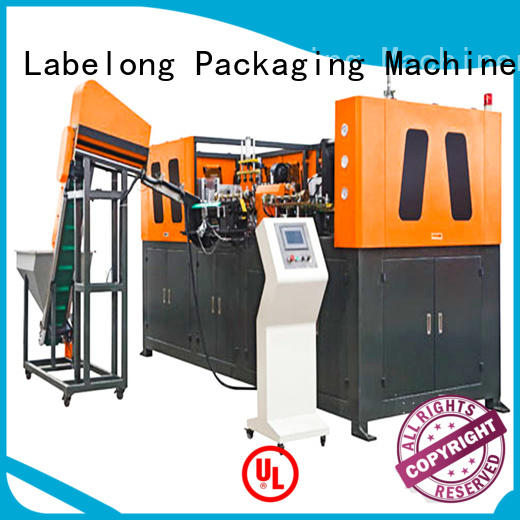 dual boots semi-automatic pet blowing machine energy saving for csd