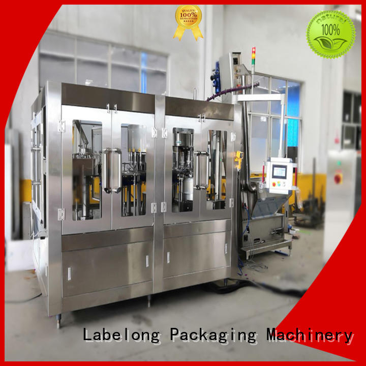 Labelong Packaging Machinery high quality water bottling machine compact structed for wine