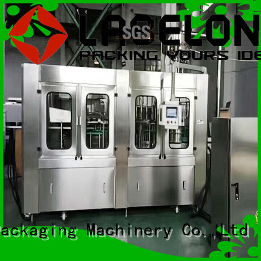 automatic glass bottle filling machine easy opearting for flavor water