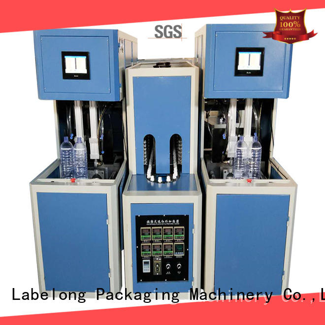 full semi-automatic pet blowing machine linear template for hot-fill bottle