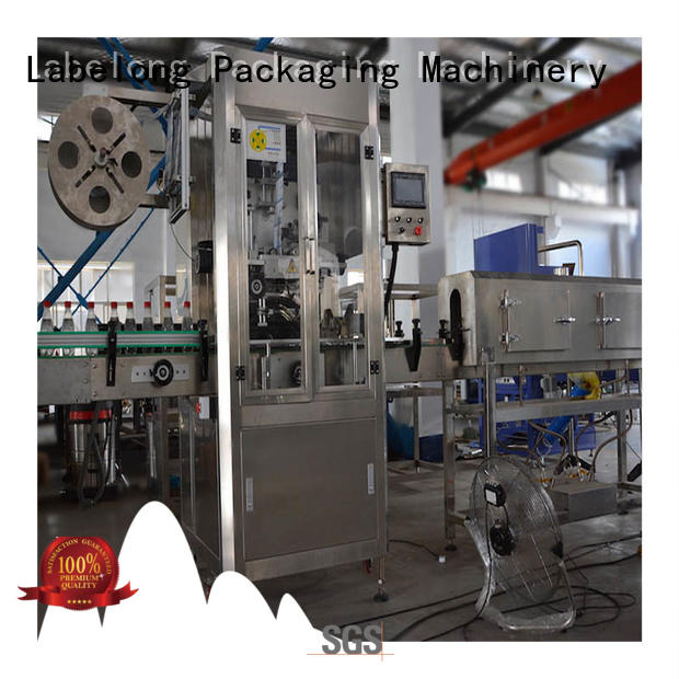 Labelong Packaging Machinery bottle labeling machine with touch screen for cosmetic