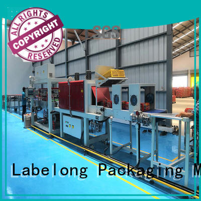 Labelong Packaging Machinery automatic shrink machine with touch screen for cans